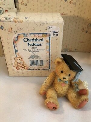 Cherished Teddies Boy Graduation #127949 - The Best Is Yet To Come