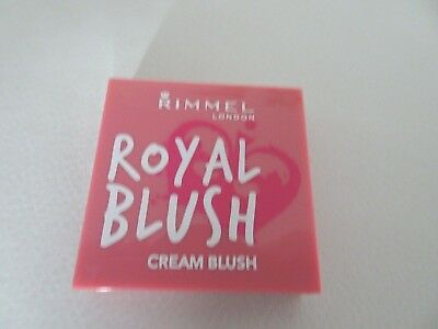 Rimmel Royal Blush Cream Blusher Majestic Pink 002   BUY 3 GET 1 FREE