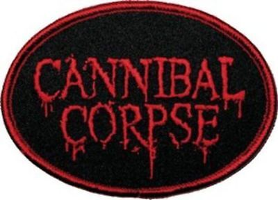 Cannibal Corpse - Oval Logo - Sew-On Patch