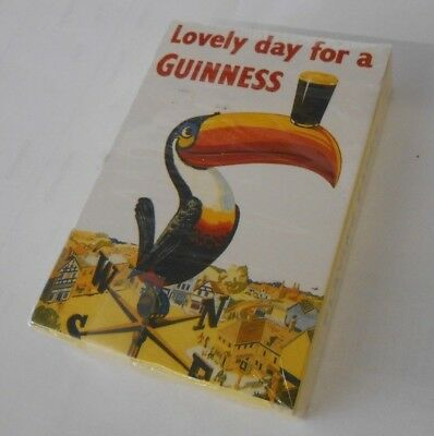 Vintage Awesome Advertising Guinness Beer Playing Cards Tucan Unopened