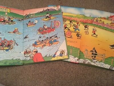 The Beezer Book - 1984 and 1987 - great condition