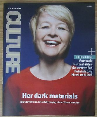 Sarah Waters – Sunday Times Culture magazine – 24 August 2014