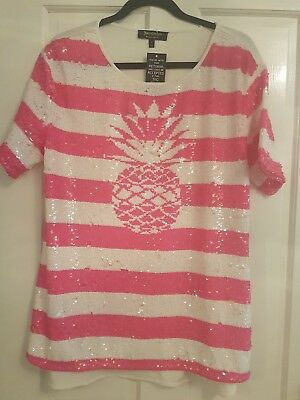 Gorgeous Summer Pineapple Juicy Couture Tshirt