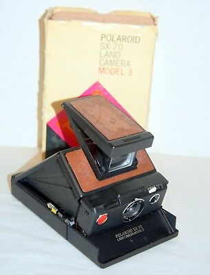 Vintage Polaroid SX-70 Land Camera Model 3 in box