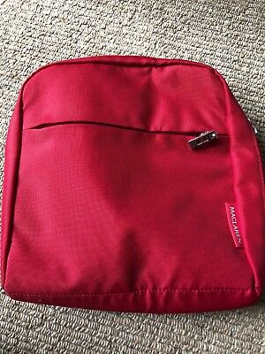 Maclaren pannier bag- red, great condition- hardly used.
