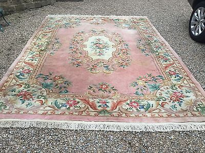 Large Chinese Wool Rug From 5* Lanesborough Hotel London