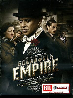 BOARDWALK EMPIRE   l'integrale de la serie  coffret 22  DVD   neuf ref 02121635