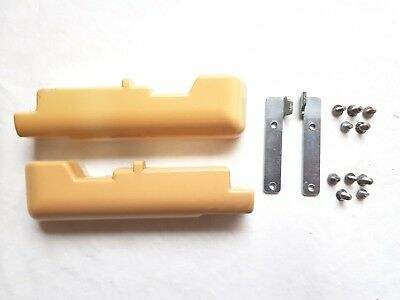 Toyota Knitting Machines Parts Ribber Kr501 Needle Bed Side End Panels & Screws
