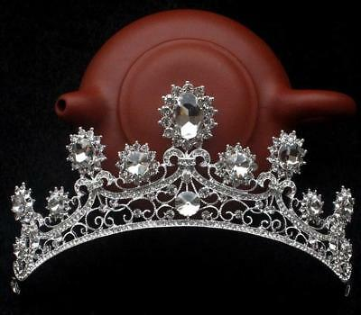 5.5cm Women Adult Crystal Women Wedding Bridal Party Pageant Prom Tiara Crown