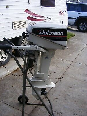 JOHNSON 6 hp 1990 OUTBOARD MOTOR
