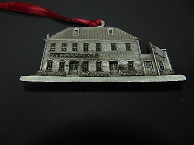 Hermannhof Winery 2008 Missouri USA made pewter collectors ornament charm wine