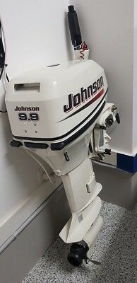 Outboard engine Johnson 9.9 hp 2 stroke