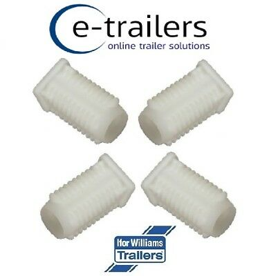 4 x Replacement Ramp Hinge White Bush for Ifor Williams Trailers P1246 (AS0558)
