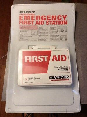 NEW First Aid Kit, Plastic Case Material, General Purpose, 46A930, 54604