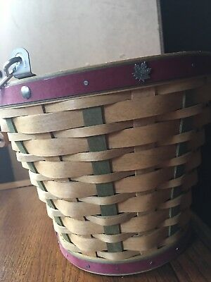 Longaberger 2003 Heritage Days Basket Combo NEW
