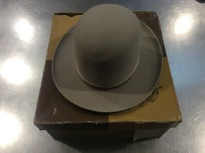 Royal Stetson Antique Hat Size 7 1/8 In Sky Grey