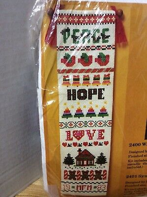 Creative Circle Symbols of the season Bellpull #2401 VINTAGE 1988 NEW (Bellpull)