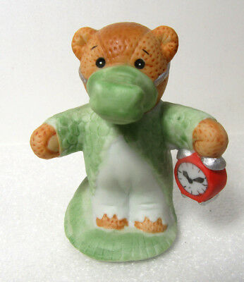 Lucy & Me ~ Alligator with Clock ~ Peter Pan Series Enesco Figurine