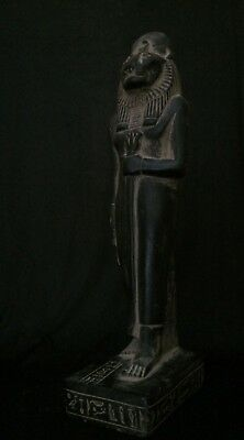 ANCIENT EGYPTIAN ANTIQUITIES SEKHMET Goddess STATUE EGYPT STONE Ca 1390-1352 BC