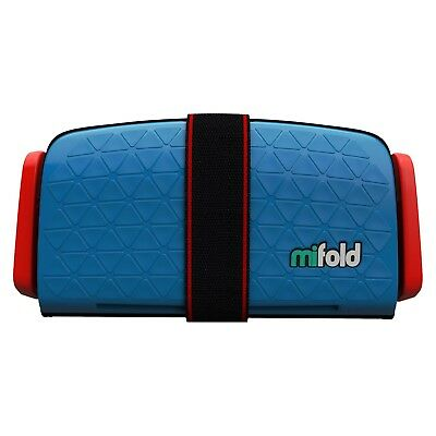 Mifold Grab-and-Go Car Booster Seat Denim Blue MF01-US/DBL - 2282