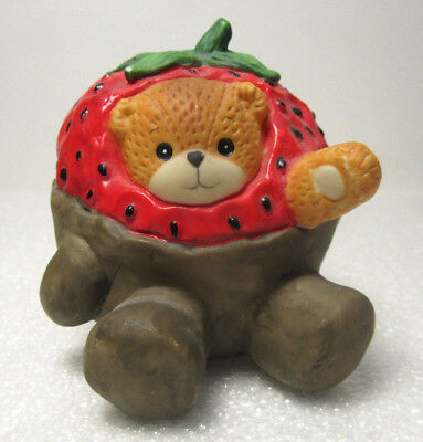 Lucy & Me ~ Chocolate Covered STRAWBERRY ~ Rigg Enesco Figurine