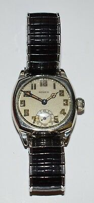 Vintage Gruen Men's Art Deco Swiss Watch Analog Mechanical Hand Winding  *LOOK*