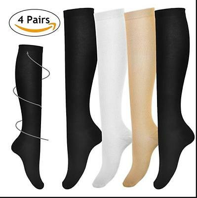 Compression Socks Stockings Medical Graduated Support 15-20 mmHG Mens Womens Sox