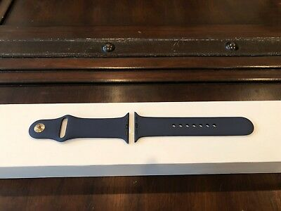 Genuine Apple Watch Midnight Blue Sport Loop Band New 42mm MED/LARGE Authentic