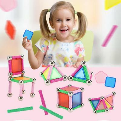 50pcs Magnetic Blocks Designer Construction Set DIY Building Model Toys Kid Gift