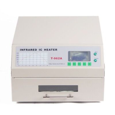 T962A Reflow Oven Infrared IC Heater Visual Operation Soldering 300×320mm 1500W