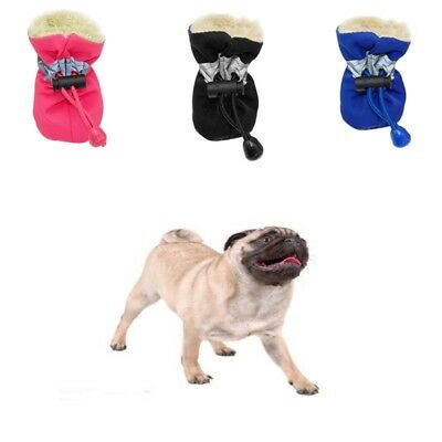 Pet Dogs Puppy Waterproof Rain Shoes Socks Anti-slip Protective Rubber Boots
