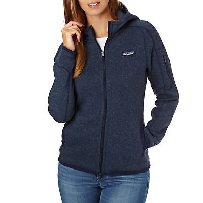 f89c586106e Patagonia Womens Better Sweater Hooded Femme Veste Polaire - Classic Navy