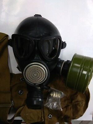GAS MASK GP-7VM (PMK-1) drinking system (1Mask,1Filter,1Bag),Russian Army
