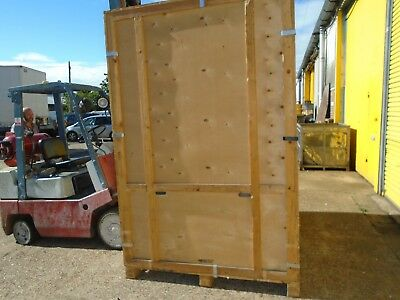 Wooden removal warehouse container