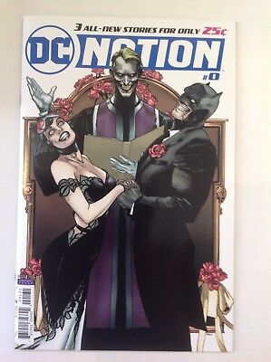DC Comics - DC NATION #0 - 1:250 Clay Mann Batman Joker Catwoman Wedding Variant