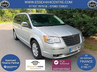 2009 (59) Chrysler Grand Voyager 2.8 Crd Ltd Automatic 7 Seater - 85,888 Miles