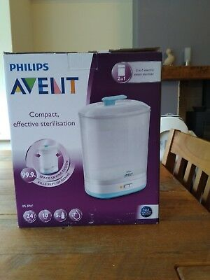 Philips Avent 2 In 1 Electric Steam Steriliser