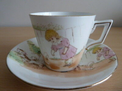 Shelley Foley Wileman Nursery Cup And Saucer
