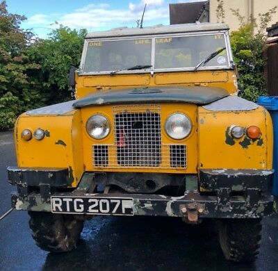 Land Rover Series 2a SWB Hard top 1968 Petrol
