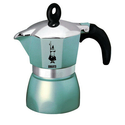 Bialetti Dama Glamour - Stove Coffee Maker - Aluminium - 3 Cup - Various Colours