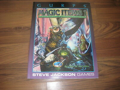 GURPS 3rd Edition Magic Items 1  Softcover 1999 Steve Jackson Games TOP