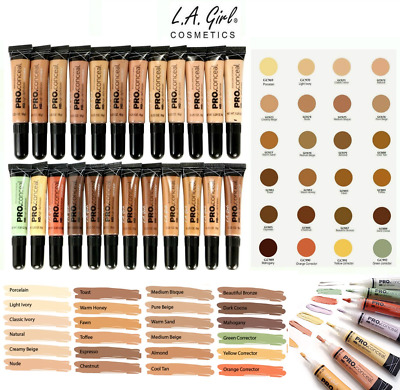 LA Girl PRO CONCEALER HD -100% AUTHENTIC- UK SELLER-43 SHADES-GRAB YOUR COLORS*!