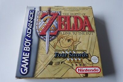 Boite + cale + notice The legend of Zelda a link to the past Nintendo Gameboy