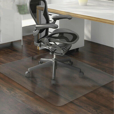 47''x35'' Waterproof Clear Floor Chair Mat Pad Carpet Protector For Home Office
