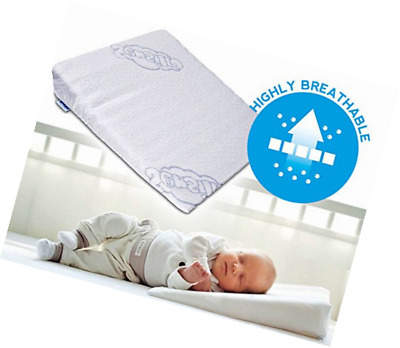 Brand New Baby Wedge Anti Reflux Colic Pillow Cushion for Pram Crib Cot Bed 37x3