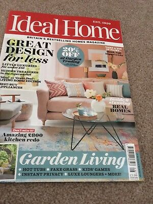 ideal home magazine august 2018