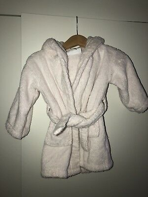 Little White Company Baby Bath Robe 6-12 Months