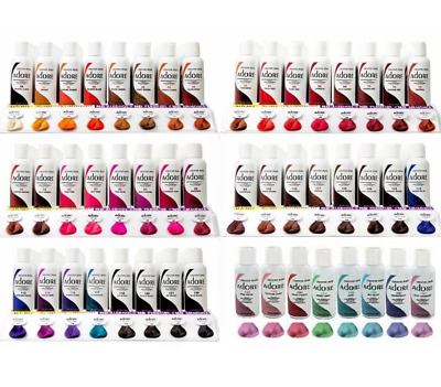 Adore Semi Permanent Hair Dye All Colours 118 Ml 1,2,3,4 Pack Available  *uk*