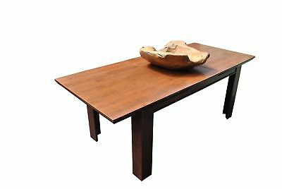 Mahogany Vintage Antique Style Extending Dining Table -Up To 8