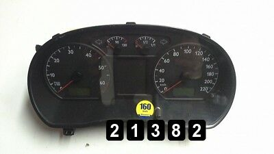 2003 VW POLO Instrument Cluster Speedometer (Lhd) Petrol 6Q0920820N
